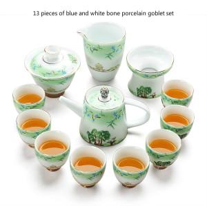 West Lake feast Ceramics tea set