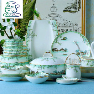 West Lake feast Ceramics Tableware set