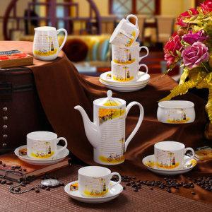 Australian high pot Cup and saucer,Porcelain