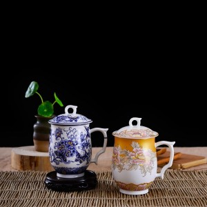Tangshan ceramic couple cups