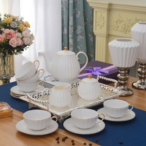 White British creative simple coffee set