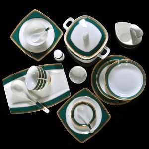 High grade bone china tableware set