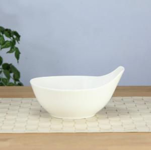 Buffy bowl, bone china salad bowl