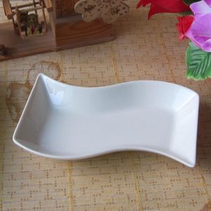 Shaped dishes, sauce dishes
