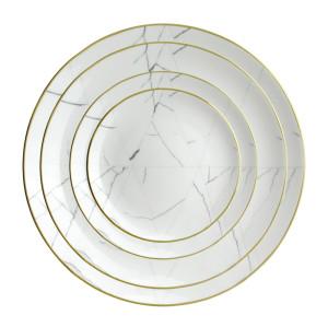 Wedding marble Bone China set