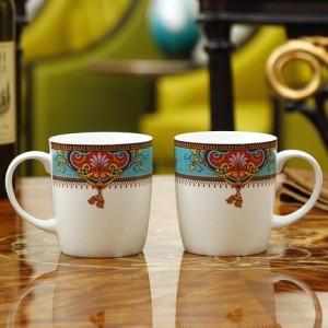 European bone china coffee cup