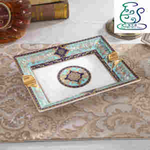 European bone china ashtray