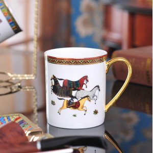 European-style bone china lovers Mug