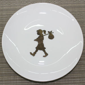 6.5-inch moonlight flat plate