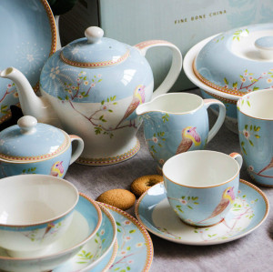 British European bone china set