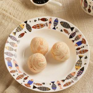 8 inch western ceramic dish