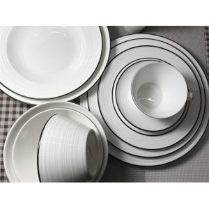 American style bone china tableware