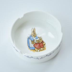 European ceramic ashtray