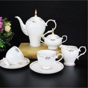 Western Coffee Cup & Saucer Set