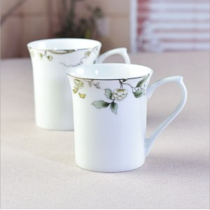 Champs Elysees creative bone china Mugs