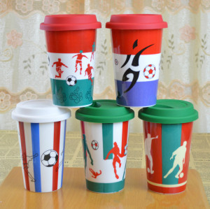 FIFA World Cup Pattern Mugs
