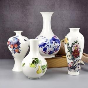 Ceramic crafts vases