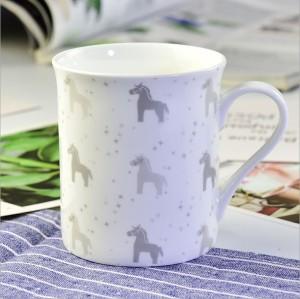 cartoon bone china Mug