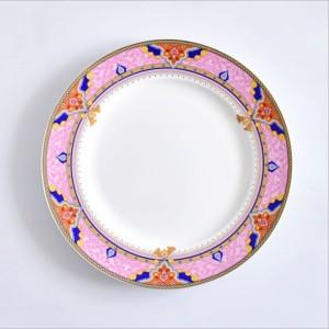 10.5-inch bone china dinner plate