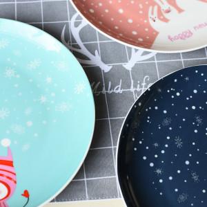 Christmas series plate