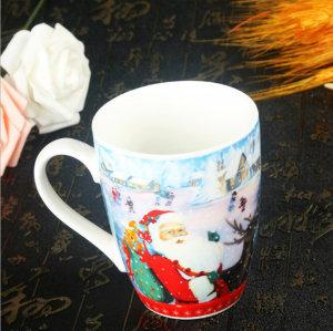 Santa Bone Porcelain Mug