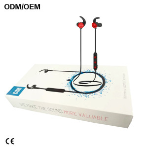 Most popular Bluetooth wireless earphone sport headphone for smartphones