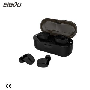 2018 New products true wireless earbuds Mini Bluetooth tws earphones with charging case