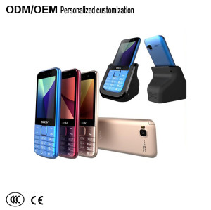 The latest cheap Chinese  feature phone with charging stand
