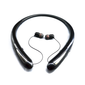 2018 Most popular neck earphone oem wireless Bluetooth headphone for smartphones