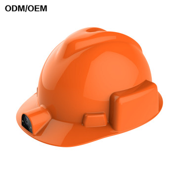 Chinese original High quality Construction helmet with flash light