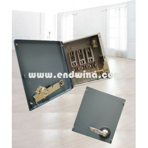 Metal precision galvanized sheet distribution box
