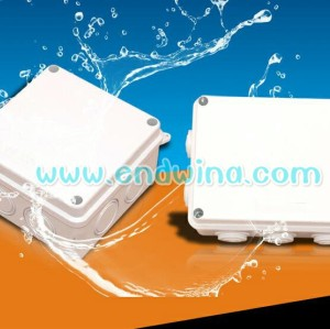 Waterproof plastic multi-function meter distribution box with leakage protection