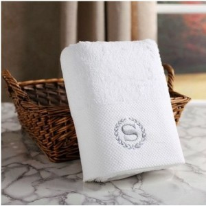Hotel and home hot sale wholesale face and bath soild color towel