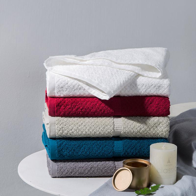 100% Cotton Wholesale Solid Color Soft Touch For Bath