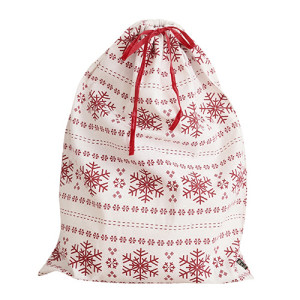Christmas presents bag storage bag Cotton sack many pattern to choose for kids or friends