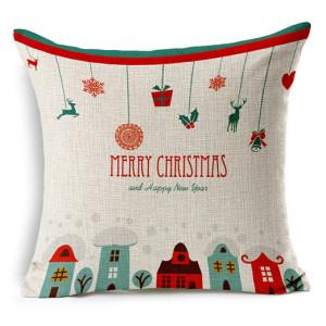 2017 new design Santa Claus cartoon pillow lovely present sofa cushions many styles