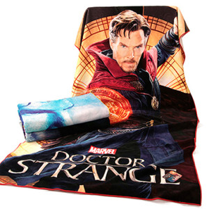 Adult bath towel highly absorbent Marvel Comics Doctor Strange Digital printing