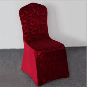 Wedding upmarket embossing flannelette chair cover