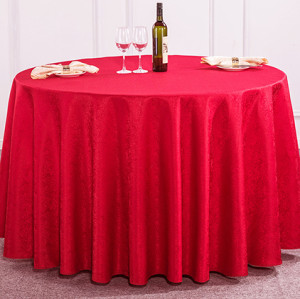 Chinese small floral round table cover European polyester wedding tablecloths