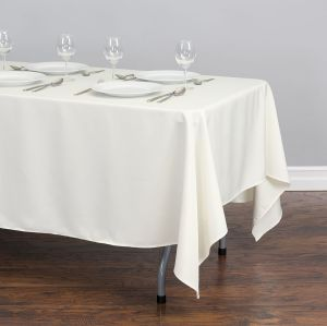Chinese modern rectangular polyester tablecloth for banquet party