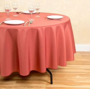 Wholesale China manufacturer round polyester tablecloth
