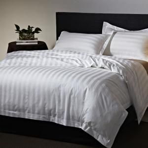 【中悦】工厂直销 酒店宾馆床上用品四件套 40S全棉三分条四件套