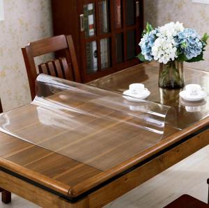 【中悦】厂家定制加厚pvc防水桌布免洗防烫软玻璃餐桌垫茶几垫台