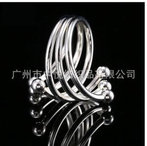【中悦】酒店西餐厅西餐用具纯色金属凤尾花餐巾扣餐巾环餐巾圈