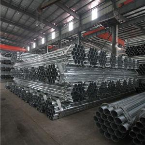 prix de tuyau d'acier galvanisé par mètre