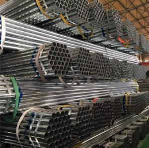 fabricants de tuyaux en acier galvanisé chine