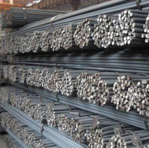 Chine En gros barres d'armature en acier au carbone pour béton armé