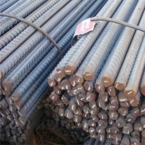 Barre en acier doux déformée pour la construction en béton