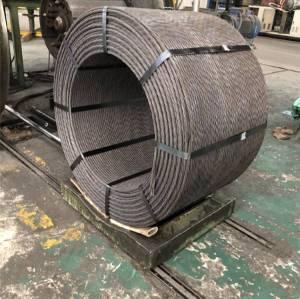 PC enduit par toron d'acier de béton précontraint utilisé dans le noyau creux