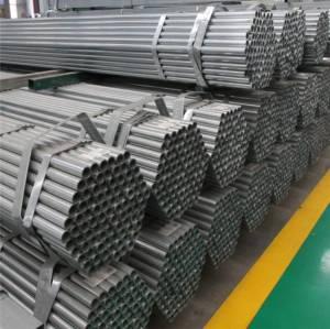 premier fournisseur de tuyaux en acier galvanisé à chaud